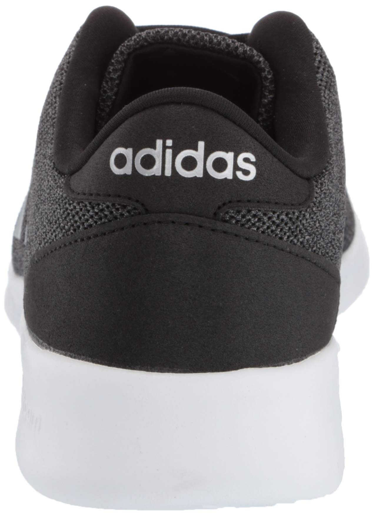 adidas Women's Cloudfoam Qt Racer Sneaker, Black/Silver Metallic/Grey, 5.5 M US by adidas (Image #2)