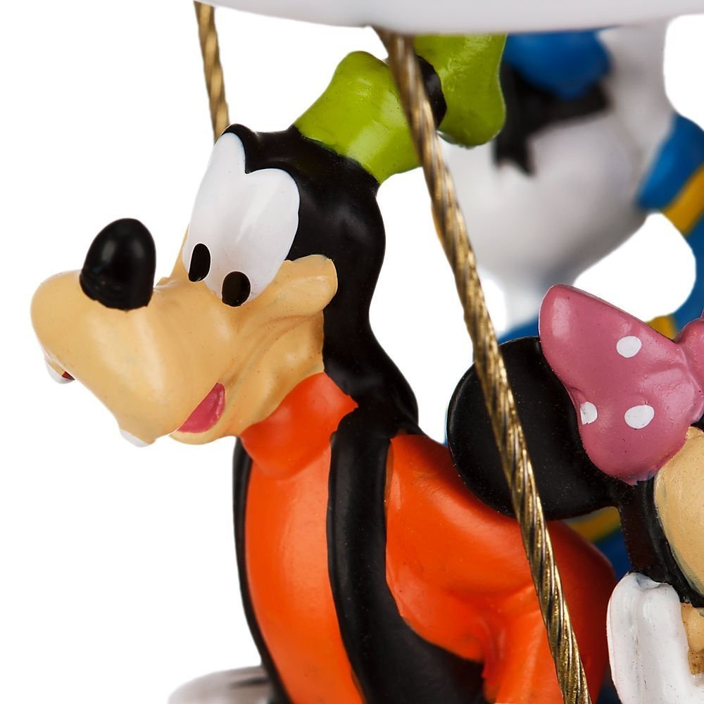 Uncategorized Mickey Mouse Goofy amazon com disney store mickey mouse clubhouse balloon christmas sketchbook ornament figurine with minnie d