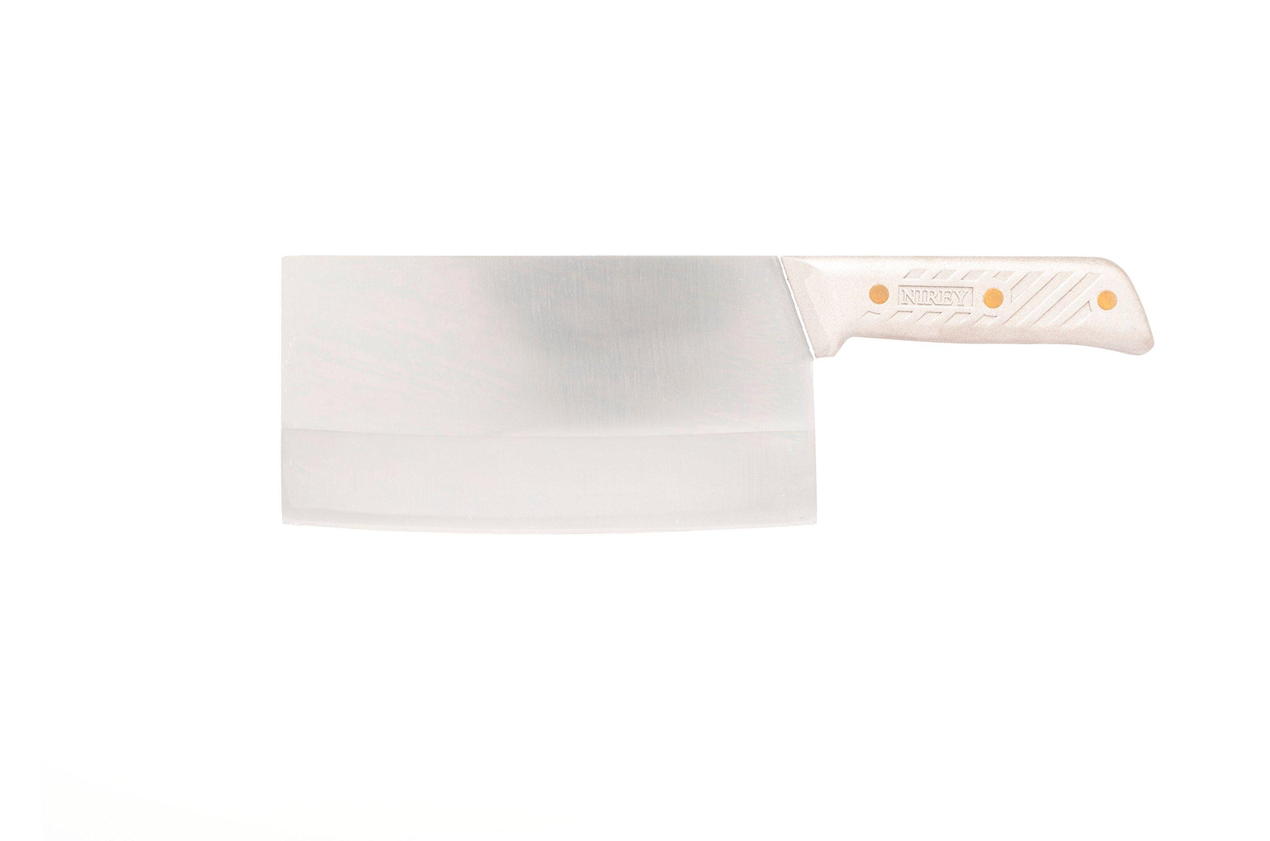 BIG CHEF KNIFE 7.3'' LAMINATED 3 LAYER HANDCRAFT STEEL HANDLE