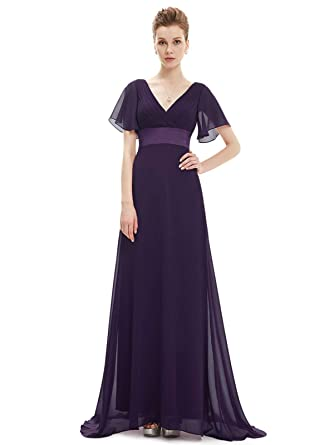 c7fd93607ed2d WEEKEND SHOP Evening Dresses Padded Trailing Women Gown Chiffon Summer Special  Occasion at Amazon Women's Clothing store: