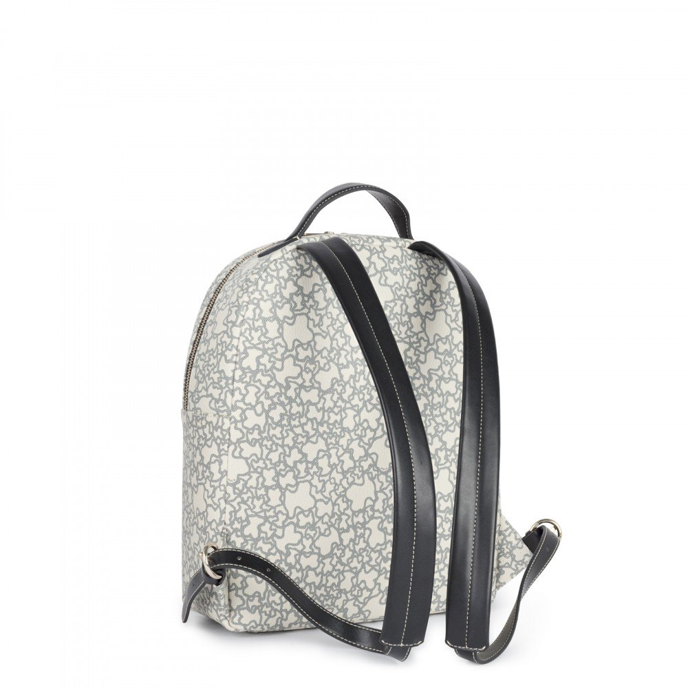 Amazon.com: Tous Mochila Kaos Mini, Womens Backpack Handbag, Beige: Shoes