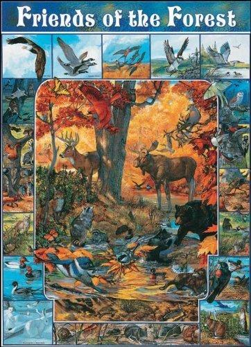 precio razonable blanco Mountain Puzzles Friends of the the the Forest by blanco Mountain Puzzles  compras de moda online