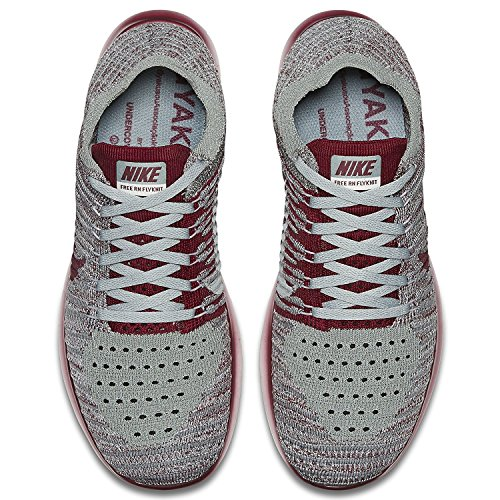 NIKE Team RN Running WMNS Mica Chaussures Grey Red Wolf Entrainement Cool de Femme Free Grey Flyknit Green STS4nrq