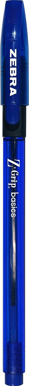 Zebra Pen Z-Grip Basics Stick Pen, 30er 30-Pack blau