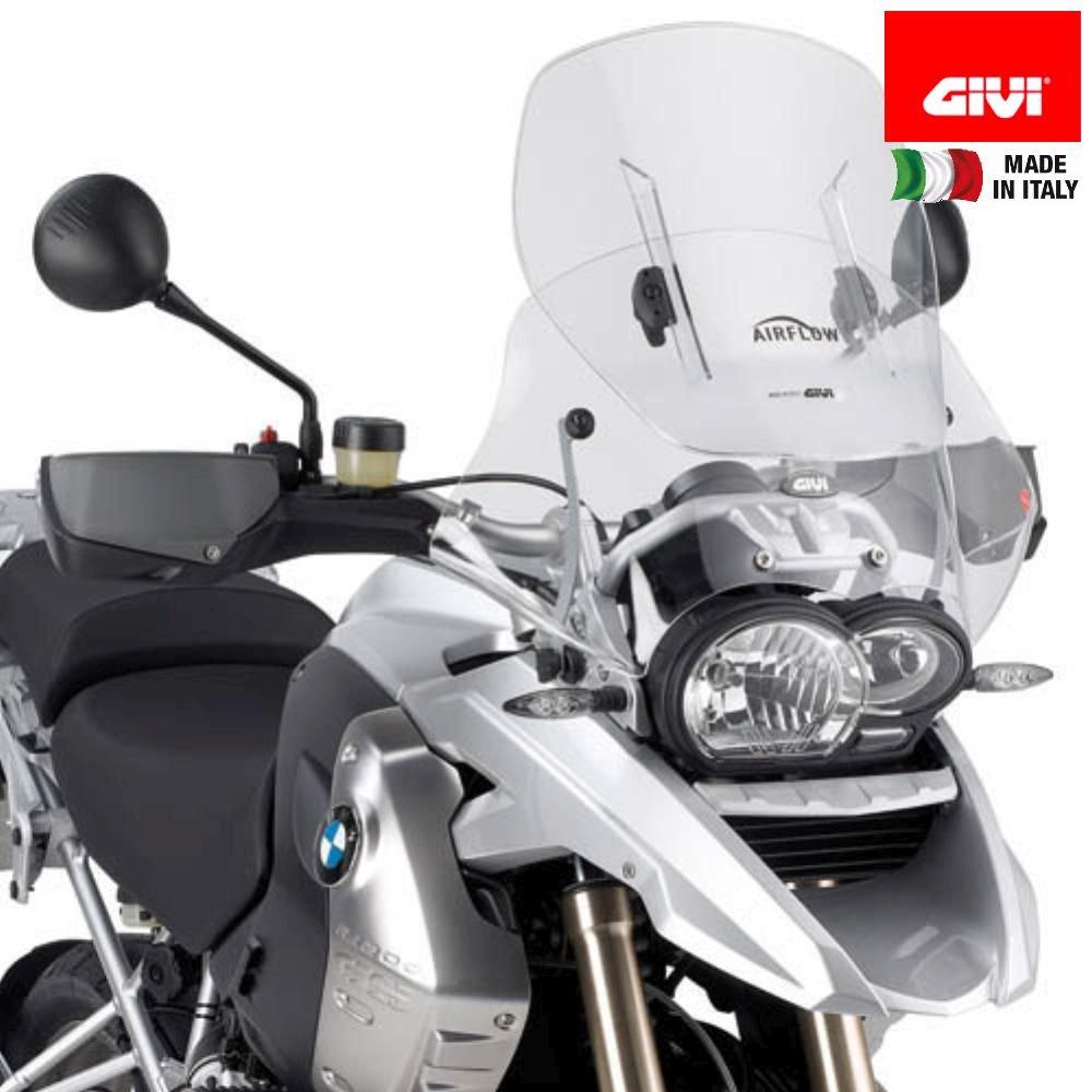 Givi AF330 Airflow Adjustable Wind Screen for BMW R1200GS 2004-2012