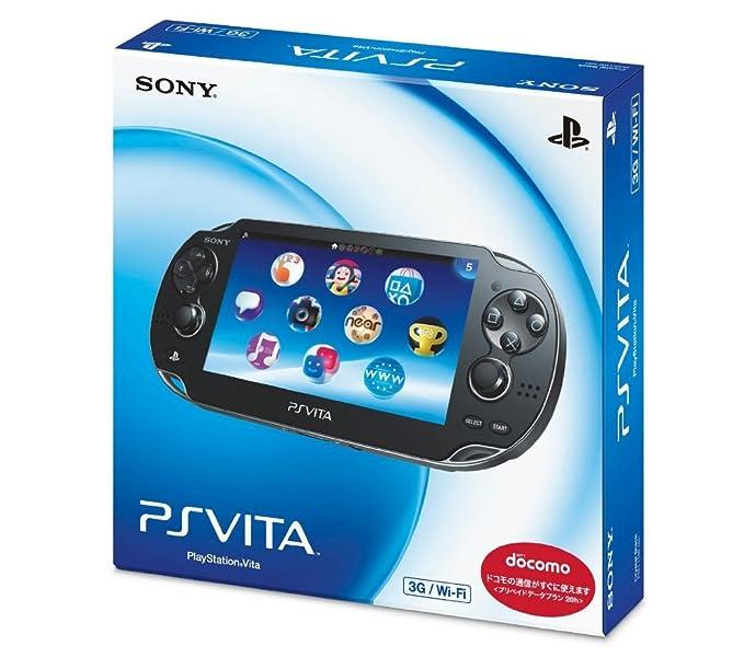 PlayStation Vita 3G/Wi-Fi Model Crystal Black Limited ...