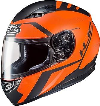 XS Casco de moto HJC CS 15 FAREN MC7SF Negro//Oroange