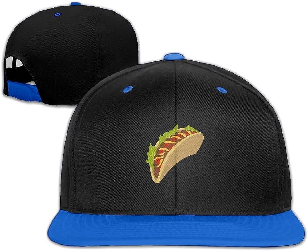 Humaoe Cartoon Mexican Taco Fashion Peaked Baseball Caps//Hats Hip Hop Cap Hat Adjustable Snapback Hats Caps for Unisex