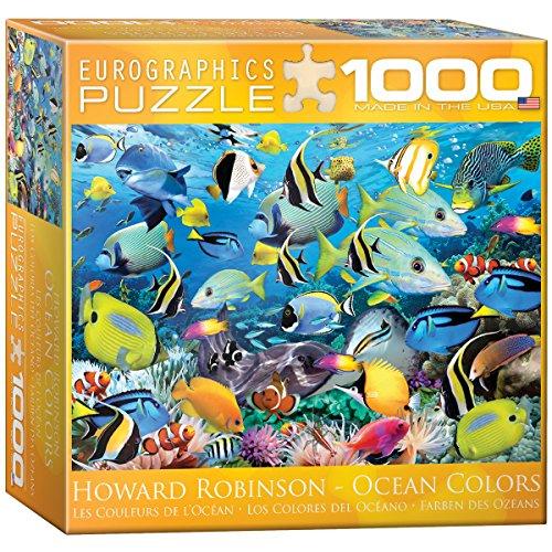 1000 piece fish puzzles - 1