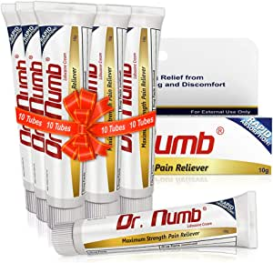 Amazon.com: Dr. Numb 5% Lidocaine Topical Anesthetic ...