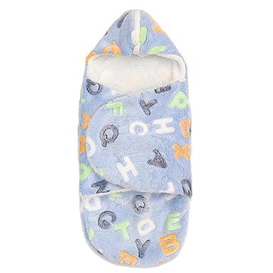 Mitlfuny Saco de Dormir para Bebé Niños Invierno Cálido Grueso Salir Manto Recién Nacido Franela Swaddle