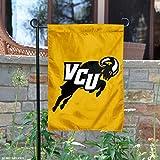 VCU Rams Jumping Ram Garden Flag