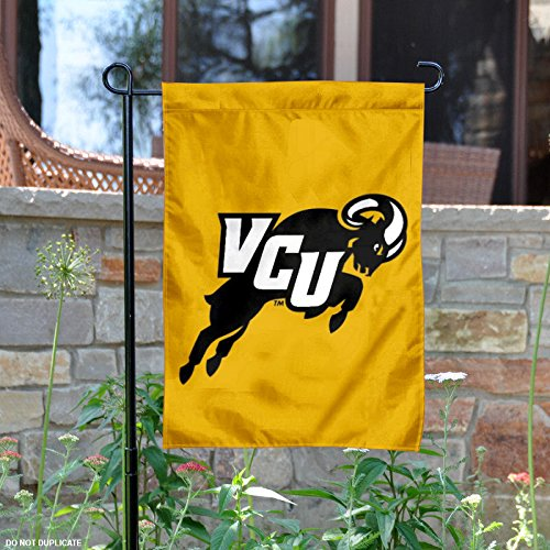 Vcu Rams Top - VCU Rams Jumping Ram Garden Flag