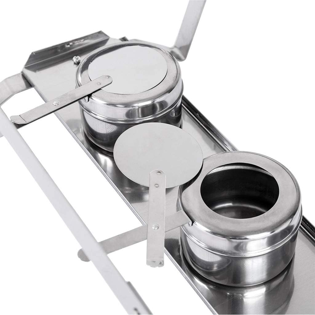 Kitchen & Dining Chafing Dishes alpha-grp.co.jp Silver Foldable ...