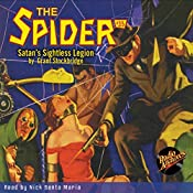 Satan's Sightless Legion: The Spider, Volume 35, August 1936 |  RadioArchives.com, Grant Stockbridge