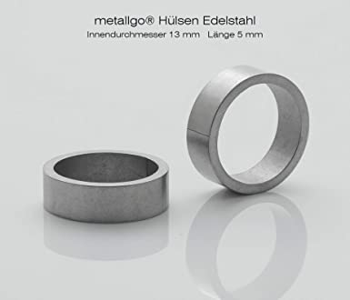 Casquillos de acero inoxidable de Metalgo®, diámetro ...