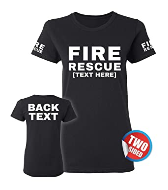 eaf0c2859 Fire Fighter Shirt - Firefighter Tshirt for Women - Volunteer Firefighter  Apparel & EMT Stuff