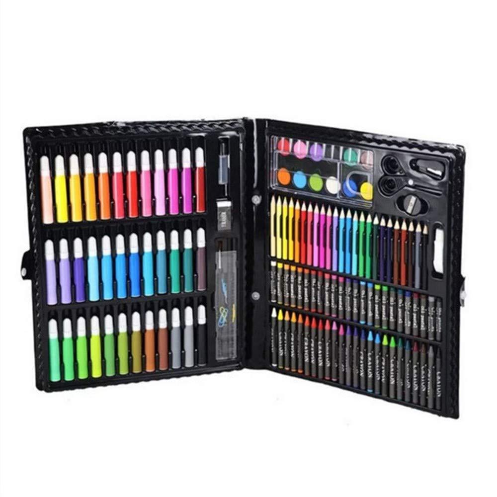 Flqwe Penne da coloreare di Pittura ad Acquerello, Pittura Set pastelli di plastica Strumento Pennello Pittura ad Acquerello