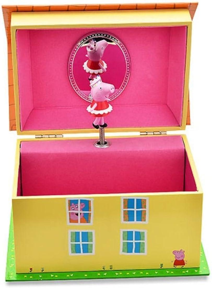 Peppa Pig y ámbar Báltico Musical para niños organizador de caja ...