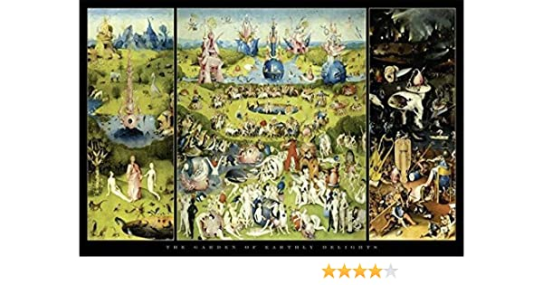 Close Up Póster Garden of Earthly Delights/El jardín de Las delicias Hieronymus Bosch (91,5cm x 61cm): Amazon.es: Hogar