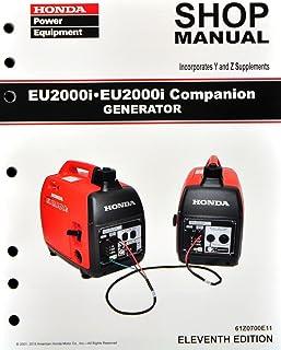 amazon com honda eb3000 generator service repair shop manual rh amazon com Honda EB3000 Specs Honda 3000 Generator