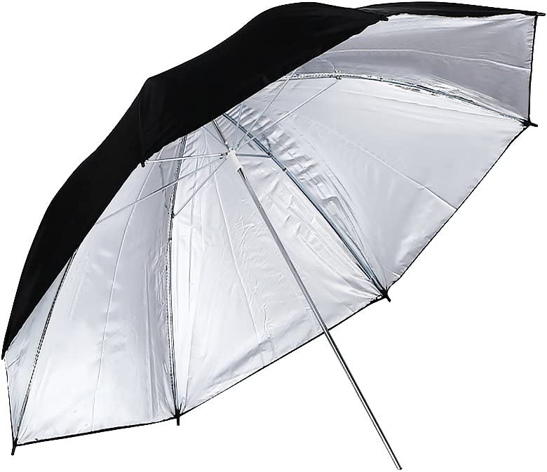 Photography Studio Photo Reflective Umbrella Tent Video Flash White Silver Gold Umbrellas with Tripod Lighting Kit 135W Lamp+White Backdrop