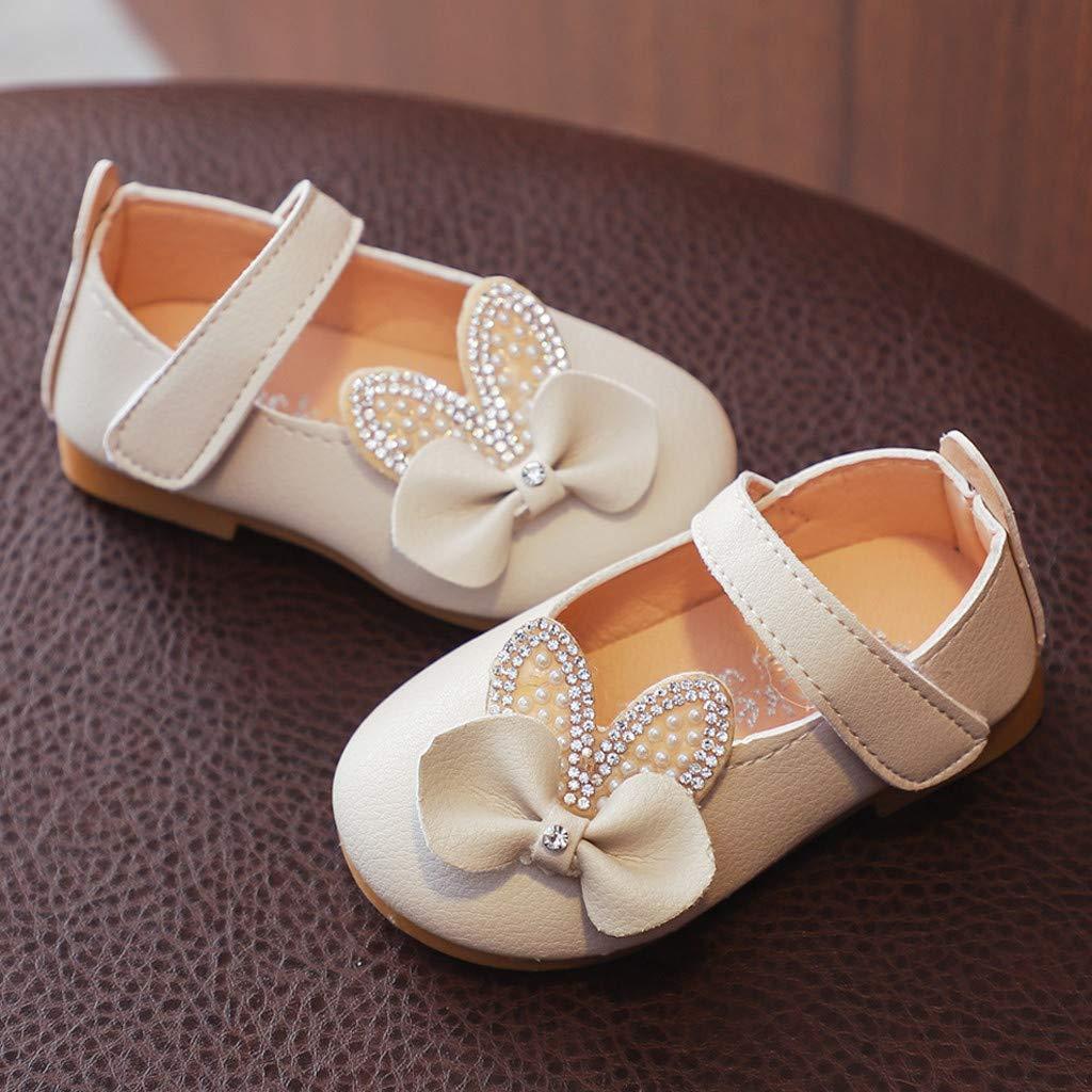 2019 Sandales Bebe Fille Cuir Ete Walaka Chaussures De Plage Douces Et Respirantes Fleur Sandales Fille Mignon Confortable Crystasl Bowknot Bling Princess Chaussures Sandales 0-7 Ans