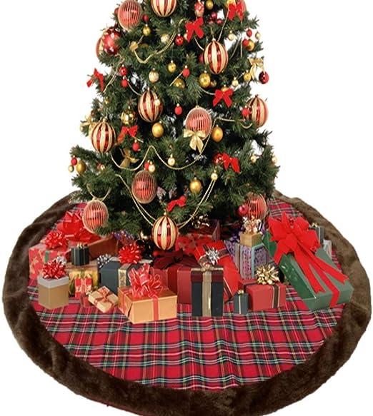 Estera de la falda árbol navidad,112 cm Estupendo regalo gran ...