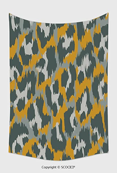 Amazon Com Home Decor Tapestry Wall Hanging Leopard Pattern