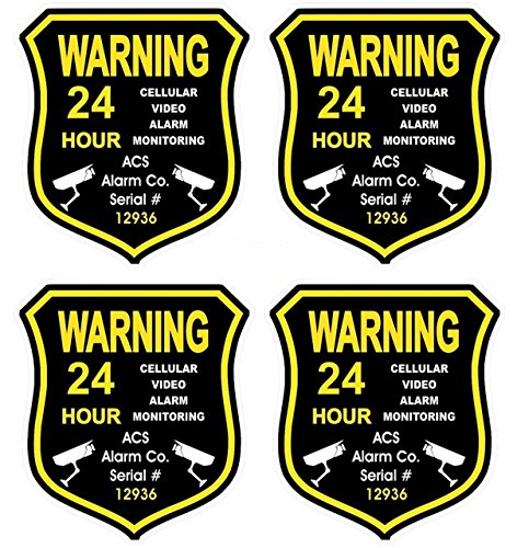 4-pc-dazzling-modern-gps-warning-security-alarm-sticker-sign-video-recording-boat-decals-anti-burgla