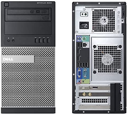 Dell Optiplex 9020 Mini Tower Desktop i5 i5-4570 Quad-Core 4GB RAM 500GB Hard Drive 1GB AMD Radeon HD 8490 16X DVD +/- RW Drive Windows 7 (Amd Radeon 8490)