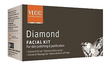 21b2155689 Amazon.com: VLCC Natural Sciences Diamond Facial Kit: Beauty