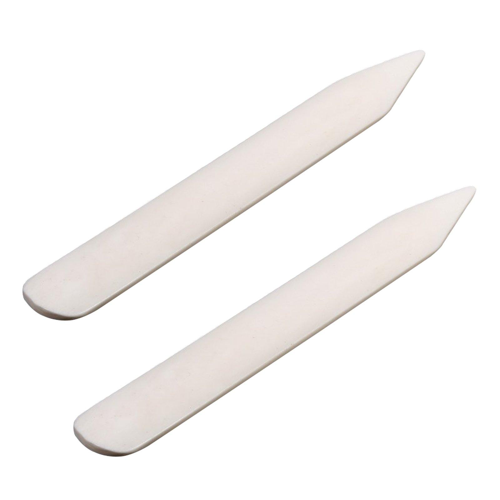 VENCINK Genuine Bone Folder Paper Creaser Crafts Scoring Folding Creasing Paper Crafting Tool Set for DIY Handmade Leather Burnishing Bookbinding Books Cards and Paper Crafts (2 bone folfer)