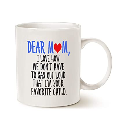Mothers Day Funny Christmas Gifts Coffee Mug For Mom