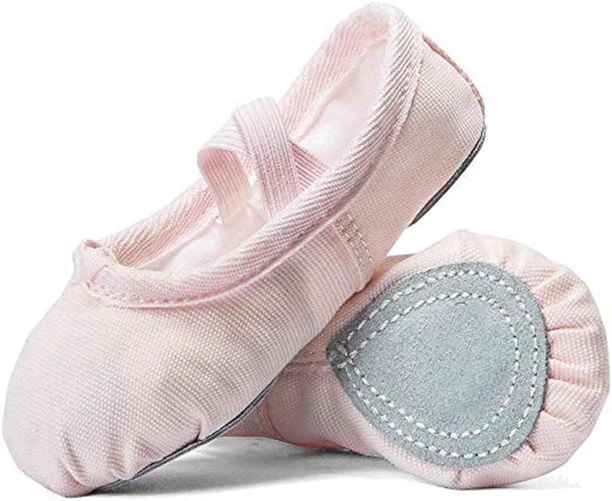 Bailarinas mujer, 2 pares Zapatillas de ballet para niñas ...