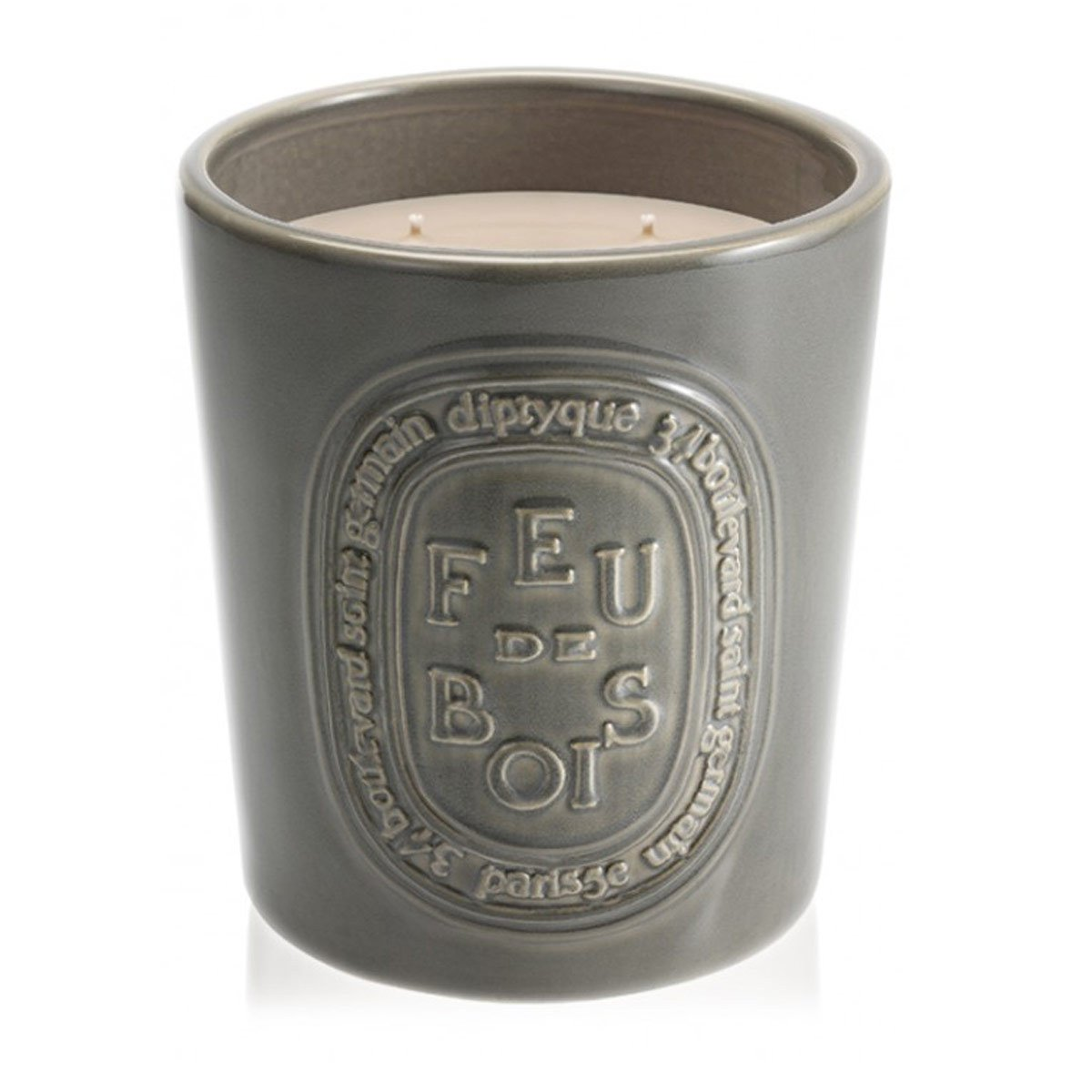 Diptyque Feu de bois Indoor/Outdoor Ceramic Candle-51.3 oz by Diptyque (Image #1)