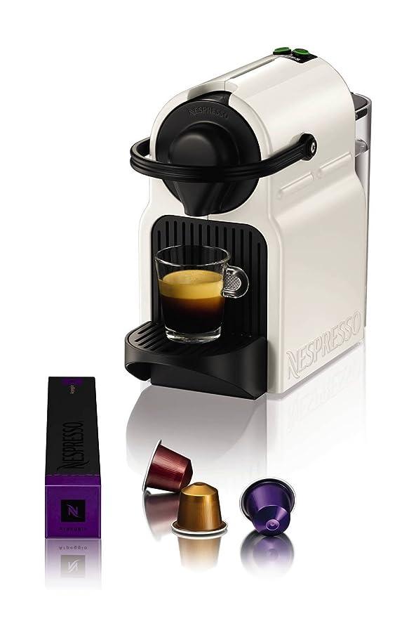 Nespresso Inissia Coffee Capsule Machine with Aeroccino, White by ...