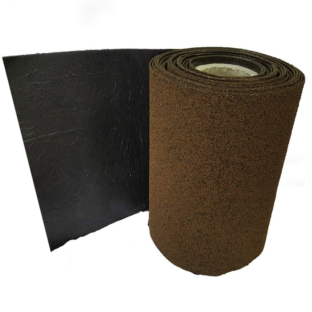 Roofing Felt Shingles | Roll Out Ridge Roll | Shed Roof Felt | 5 Colours | Free Adhesive | 10m (Antique Red) Ashbrook Roofing