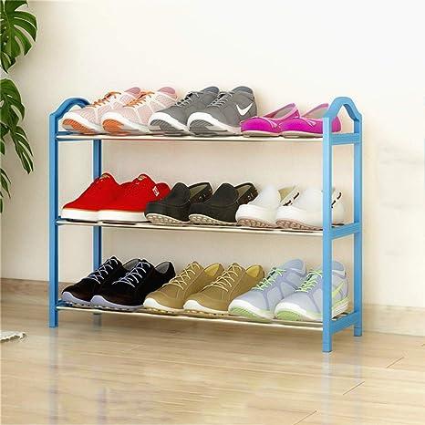 Amazon.com: Zapatero pequeño para ahorrar espacio, estante ...
