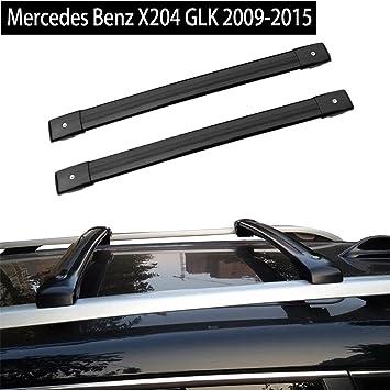 BARRE PORTAPACCHI PORTATUTTO MENABO/' MERCEDES GLK X204 DAL 2008 RAILS SW