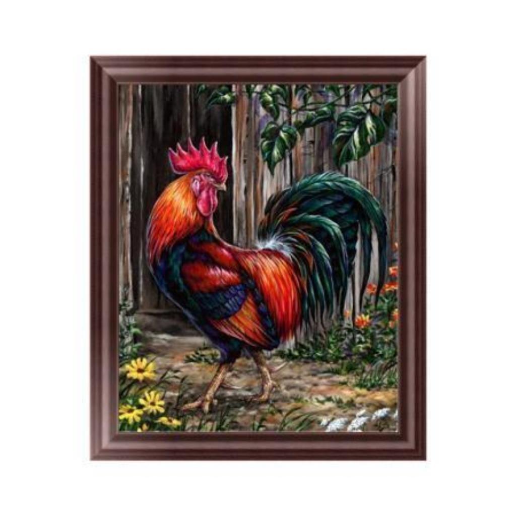 Techinal 5D Diamond Embroidery Chicken Family Painting Cross Stitch DIY Art Craft Home Kitchen Decor