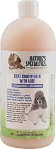 Nature's Specialties Coat Conditioner for Dogs Cats, Non-Toxic Biodegradeable