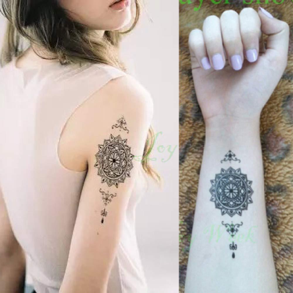 ljmljm 5 Piezas Impermeable Tatuaje Pegatina Mosca pájaros búho ...