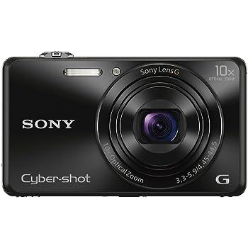 Sony DSCWX220 B 182 MP Digital Camera With 27 Inch LCD Black