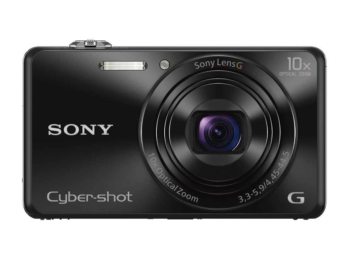 Sony DSCWX220/B 18.2 MP Digital Camera with 2.7-Inch LCD (Black) by Sony