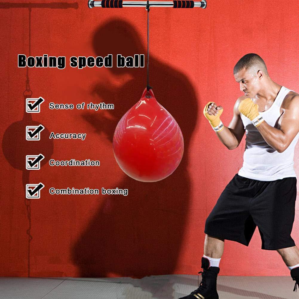 TARTIERY Sacos De Suelo Saco De Boxeo para Artes Marciales Bolsa De Entrenamiento De Inyecci/ón De Agua del Boxeo De La Inyecci/ón del Agua del Fondo del PVC