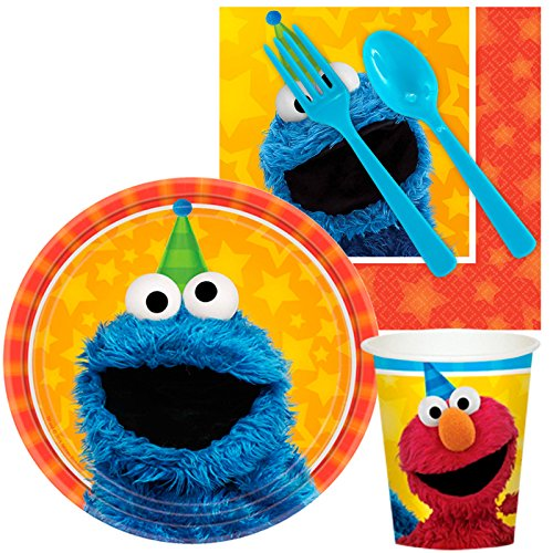 BirthdayExpress Sesame Street Party Supplies - Snack Party Pack (8)