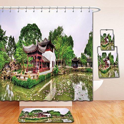 Beshowereb Bath Suit: Showercurtain Bathrug Bathtowel Handtowel humble administrator s garden the largest garden in suzhou china unesco heritage site - Macy's Site
