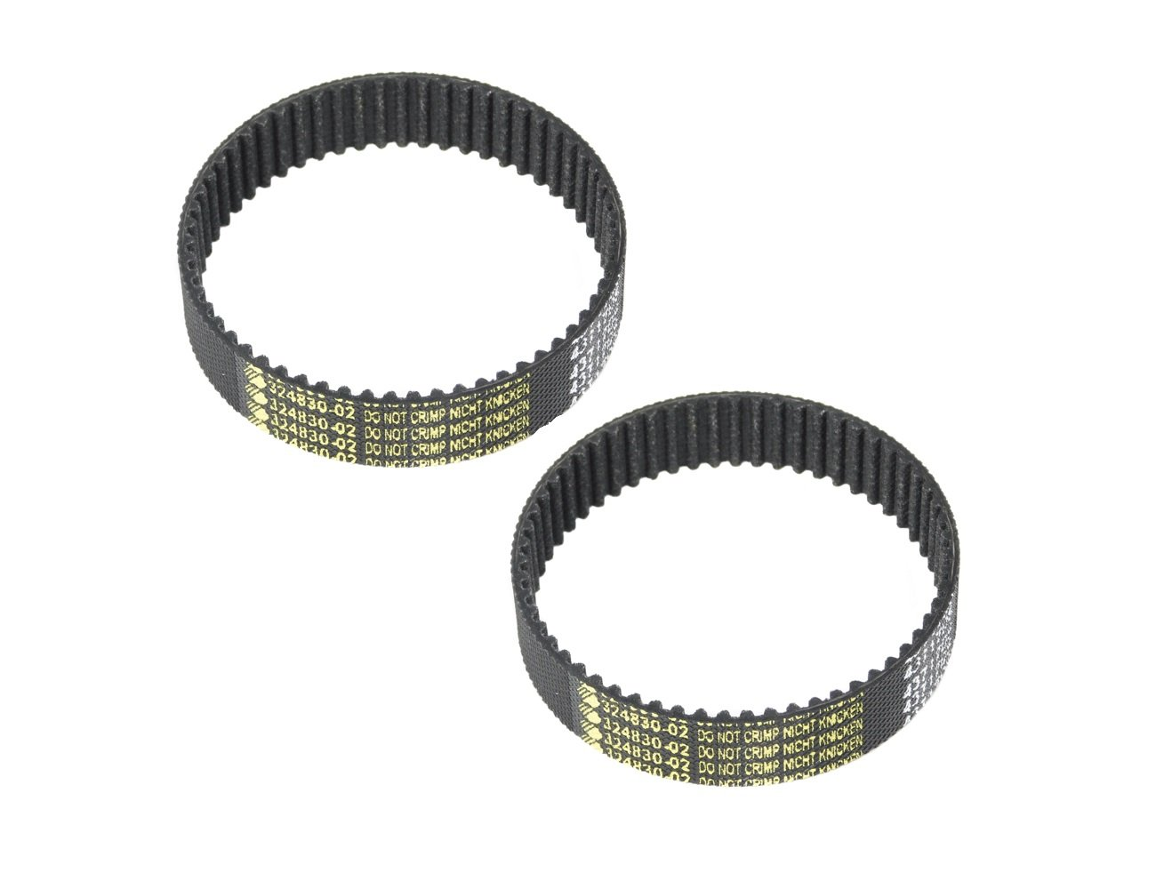 Black & Decker 7696 Planer Type 6-7 Replacement (2 Pack) Drive Belt # 324830-02-2pk Stanley Black&Decker