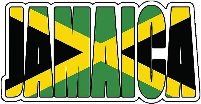 "11/"" Jamaican Pride Vinyl Decal Truck Window Sticker Jamaica Island"